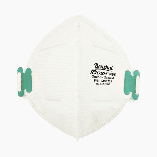Benehal official MS8225 NIOSH N95 Particulate Respirator Mask from Medical Group Care | PPE Personal Protection Equipment NIOSH N95 Masks, KN95 Masks, 3-PLY Masks and other PPE items for individuals, hospitals, businesses and health organizations in the United States and Europe