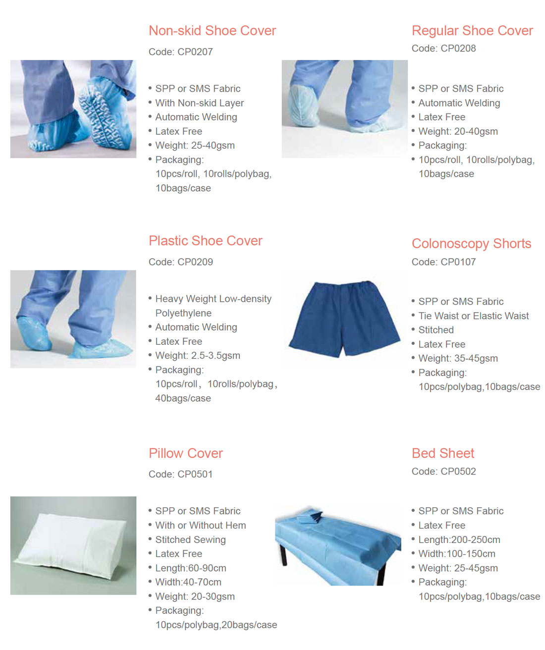 Footwears & Others | Protective Apparels - Medical Group Care