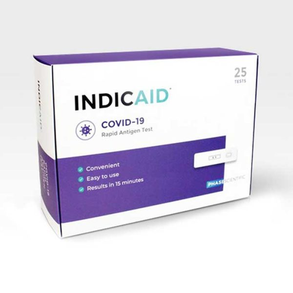 INDICAID COVID-19 Rapid Antigen Tests | Medical Group Care Medical Equipment