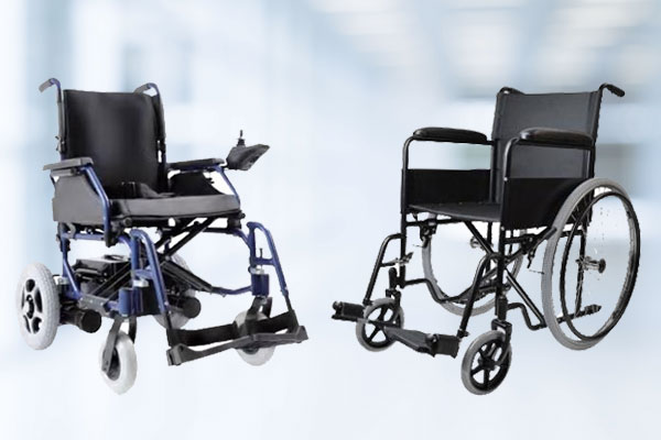 Power Wheelchair and Manual Wheelchair | Medical Group Care PPE Medical Equipment Wheelchairs, Rollators, Over Bed Tables, Commode Chairs, Canes & Walkers, Shower Chairs
