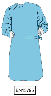 Surgical Gown Alpha Gown EN 13795 | Medical Group Care